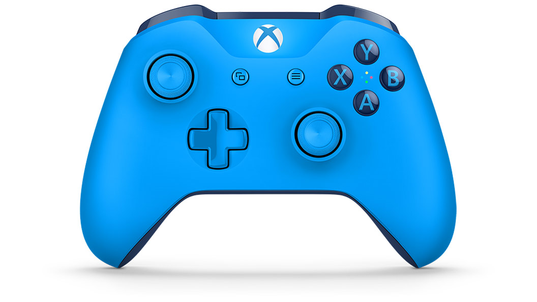 Front view of Blue Controller