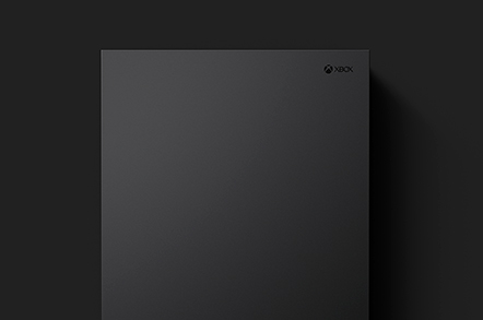 click to expand Xbox one x top view image