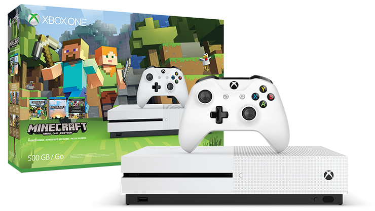 Xbox One S Minecraft Favorites Bundle (500 GB)