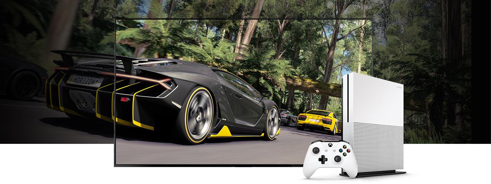 Forza Horizon 3 in High Dynamic Range on Xbox One S