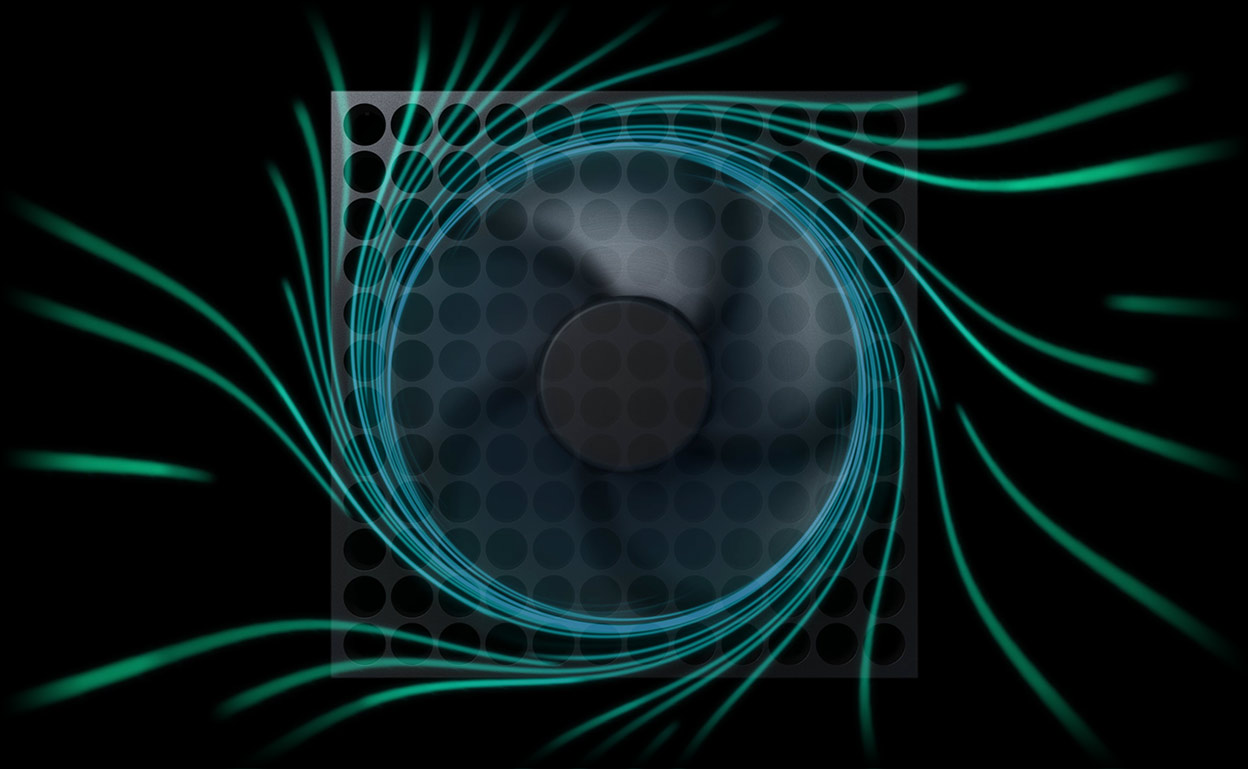 Ventilador de la Xbox Series X