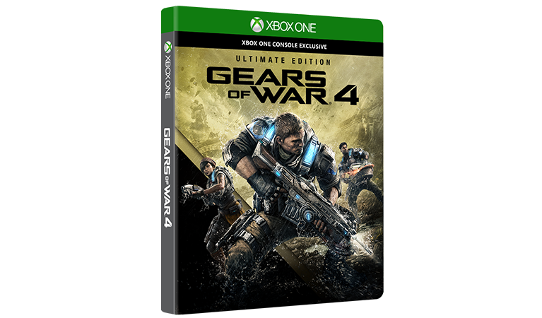 Gears of War 4 Ultimate Edition dobozának képe