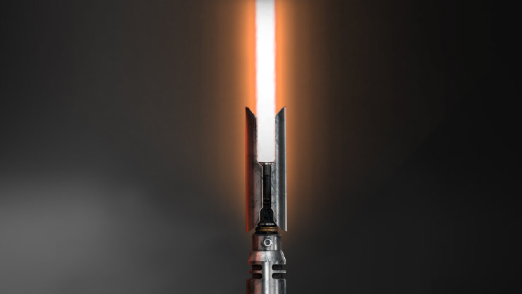 Orange Lightsaber Blade Color