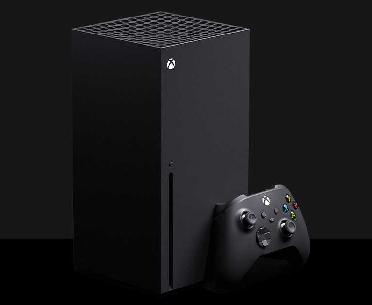 Xbox Series X-console plus controller