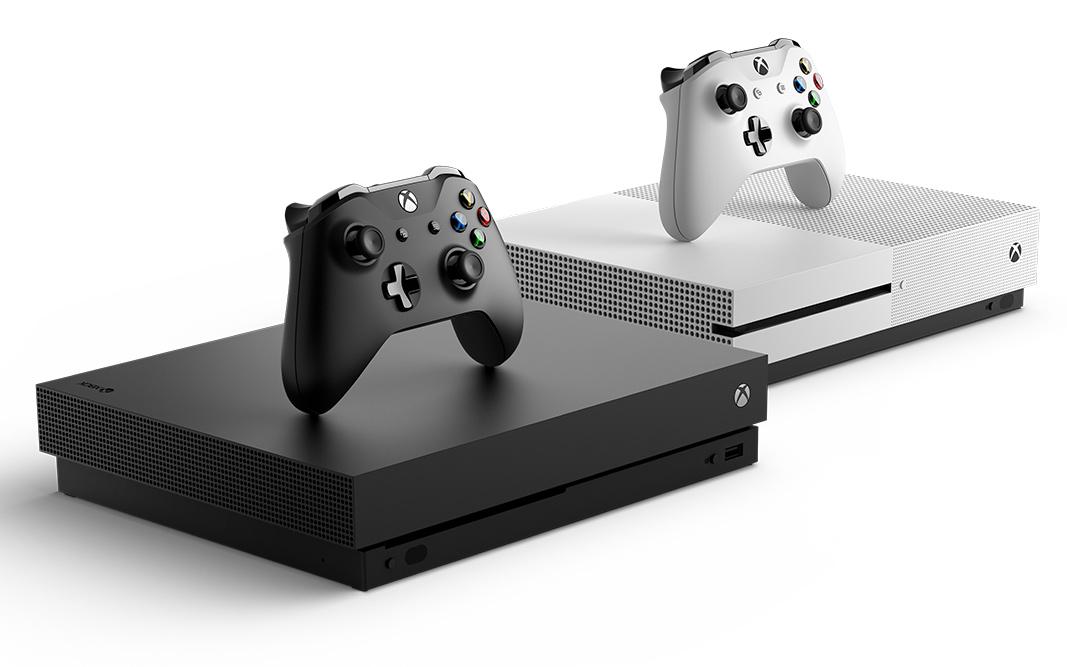 Xbox One X 和 Xbox One S 主机