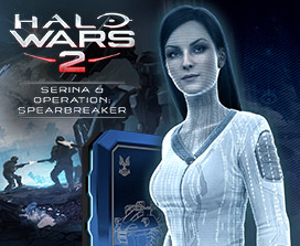 Halo Wars 2 Serena and Spearbreaker