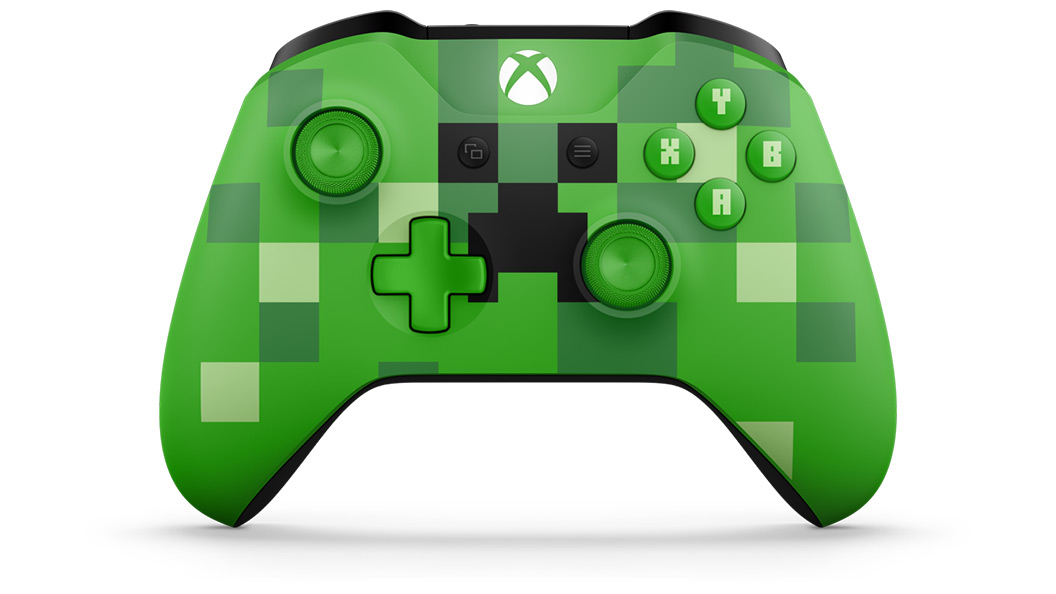 Rotating view of Minecraft Creeper Controller