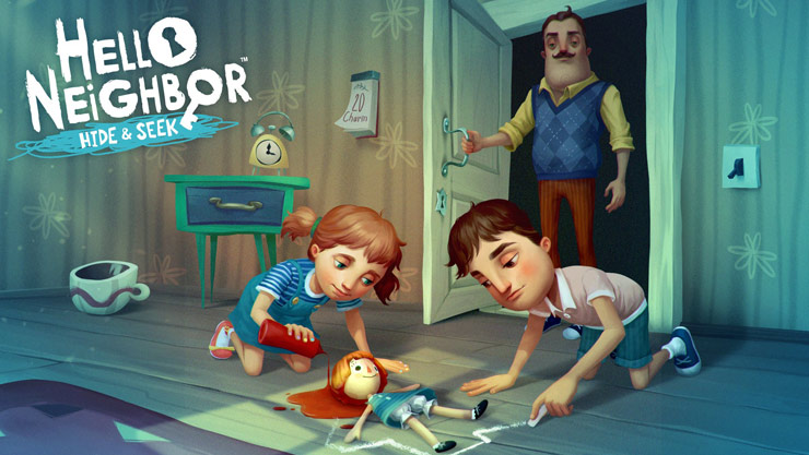 Game graphics of Hello Neighbor Hide and Seek