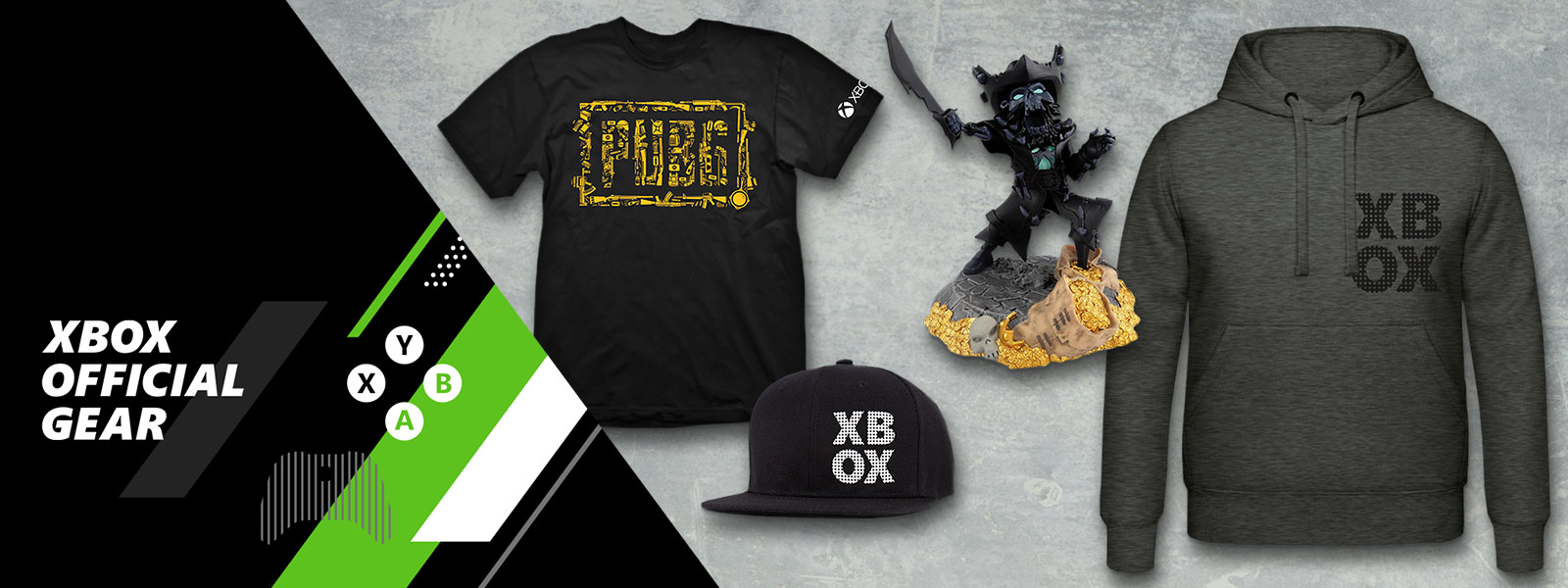 Collection of Xbox offical gear