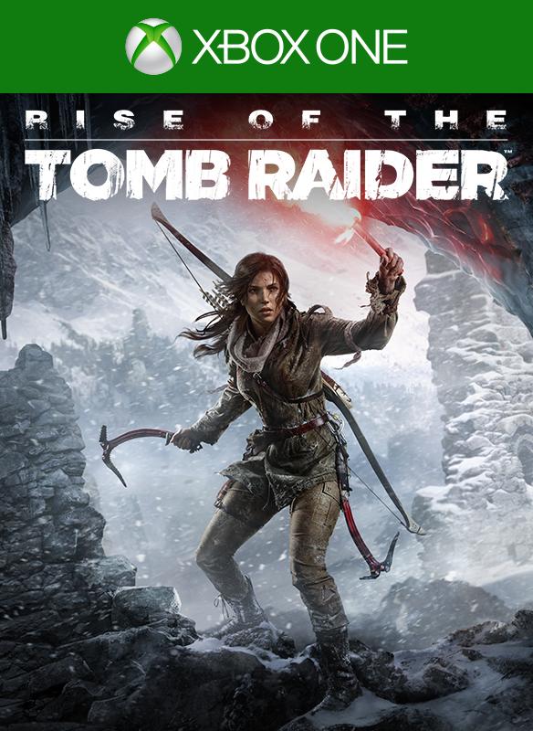 Rise of the Tomb Raider digital packshot