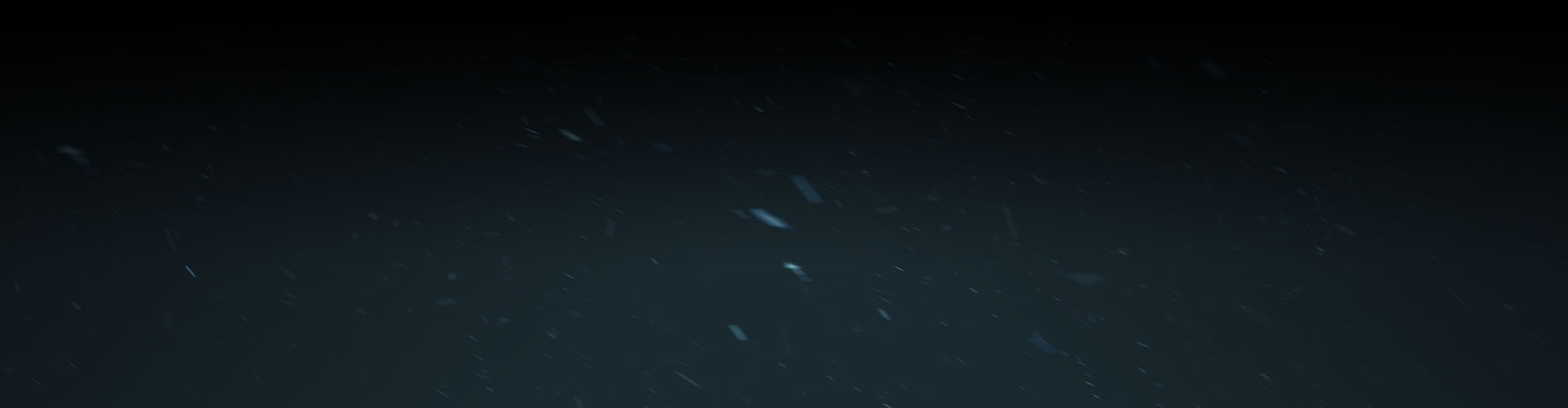 Night snow background