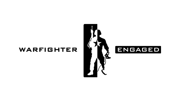 Logótipo da WarFighter Engaged