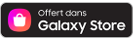 Disponible sur le Galaxy Store, icône de Samsung Galaxy