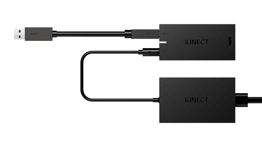Kinect-adapter - close-up