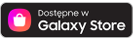 Dostępna w Galaxy Store, ikona Samsung Galaxy