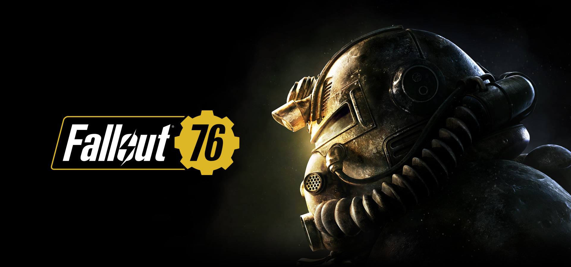 Fallout 76, close-up side view of a Power Armor Helmet