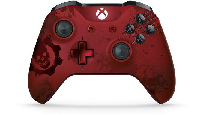 Limited Edition Crimson Omen controller