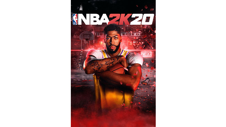 NBA 2K20 game box shot