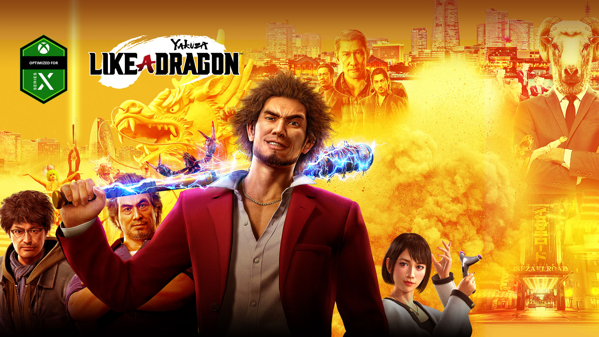 Yakuza Like A Dragon Xbox