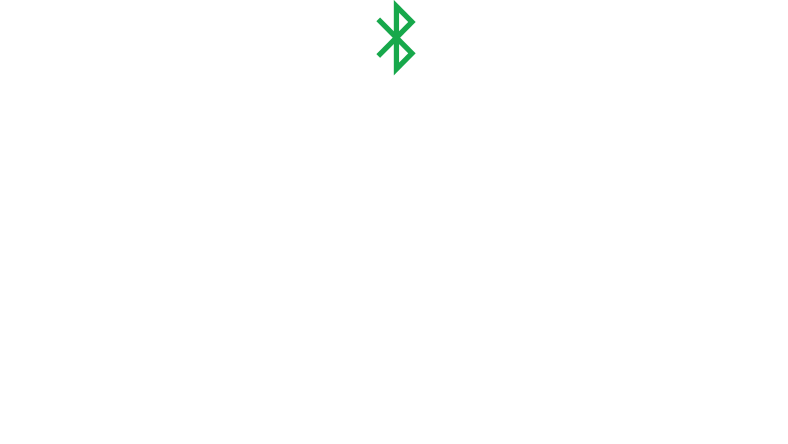 Line art of an Xbox Wireless Controller with a Bluetooth symbol