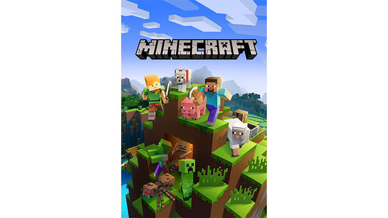 Minecraft game box shot
