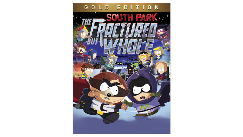 South Park Fractured But Whole Gold Edition bild på förpackning