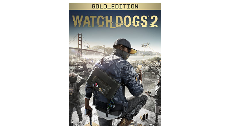 Watch Dogs 2 Gold Edition – Verpackung
