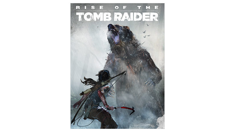 Imagem da caixa do Passe de temporada de Rise of the Tomb Raider