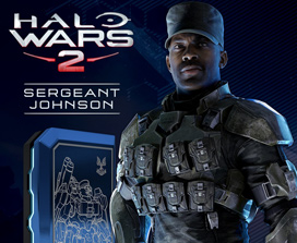 Halo Wars 2 Sargento Johnson