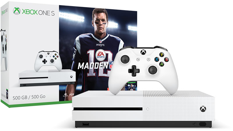 Xbox one S with NFL 18
