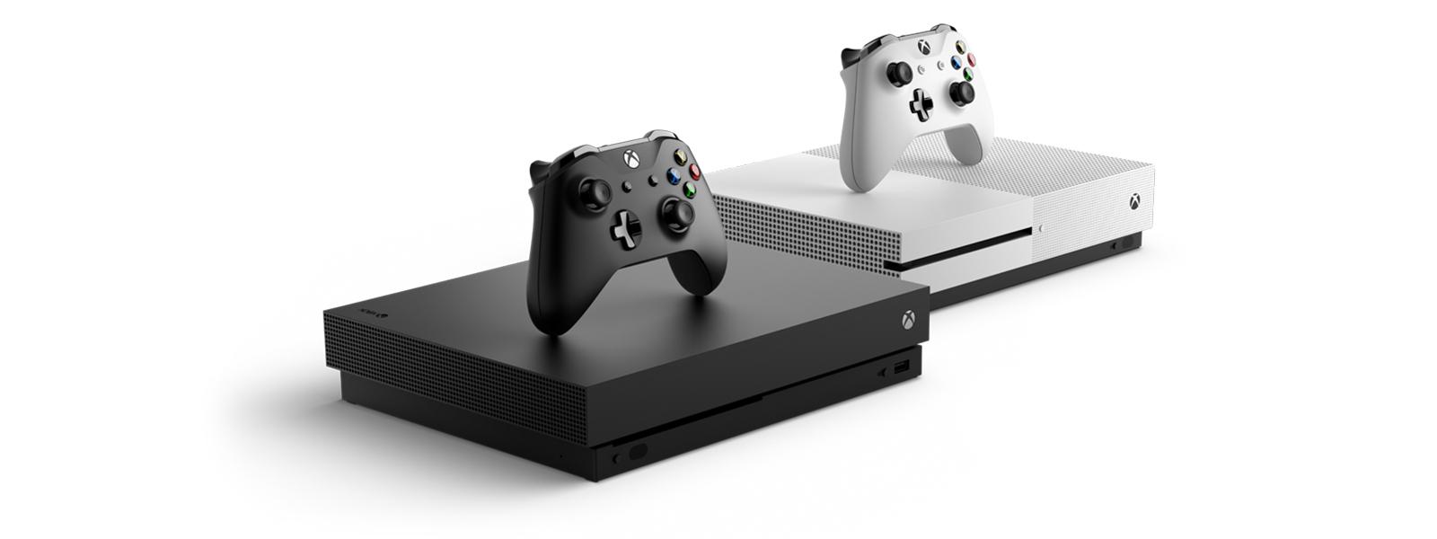 Xbox One X plus Xbox One S