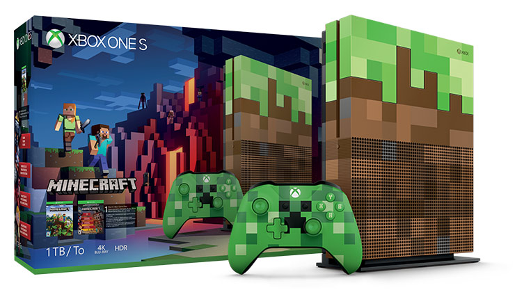 Bundle Xbox One S Minecraft Limited Edition