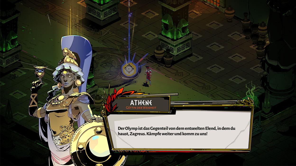 Screenshot aus dem Spiel Hades.