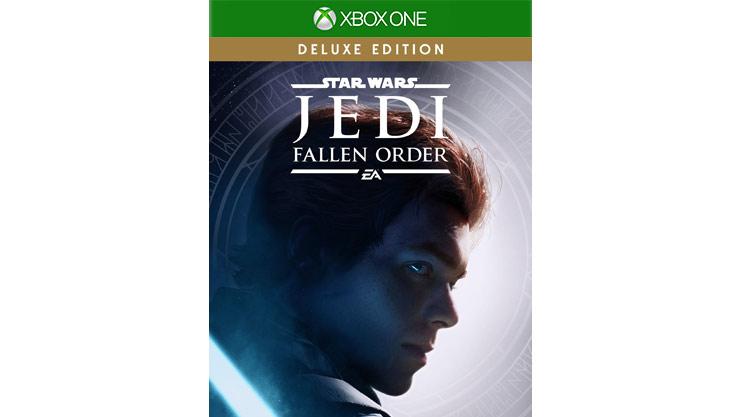 Star Wars Jedi: Aufnahme der Fallen Order-Spieleverpackung