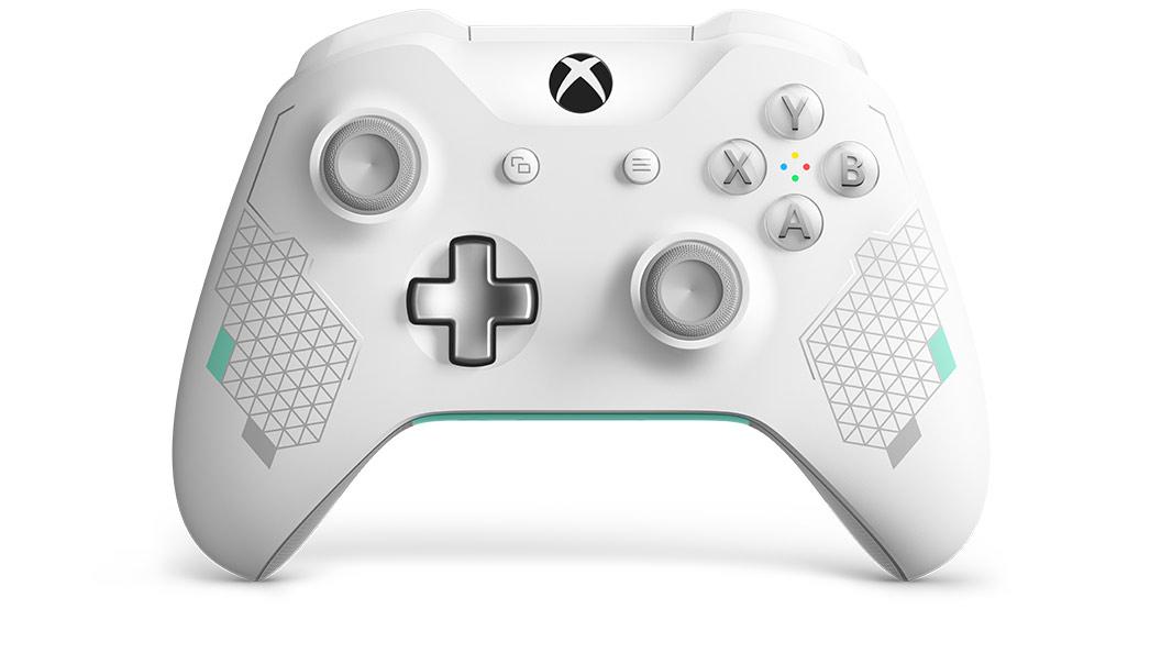 Xbox One S trådløs kontroll (hvit) Xbox kontrollere og