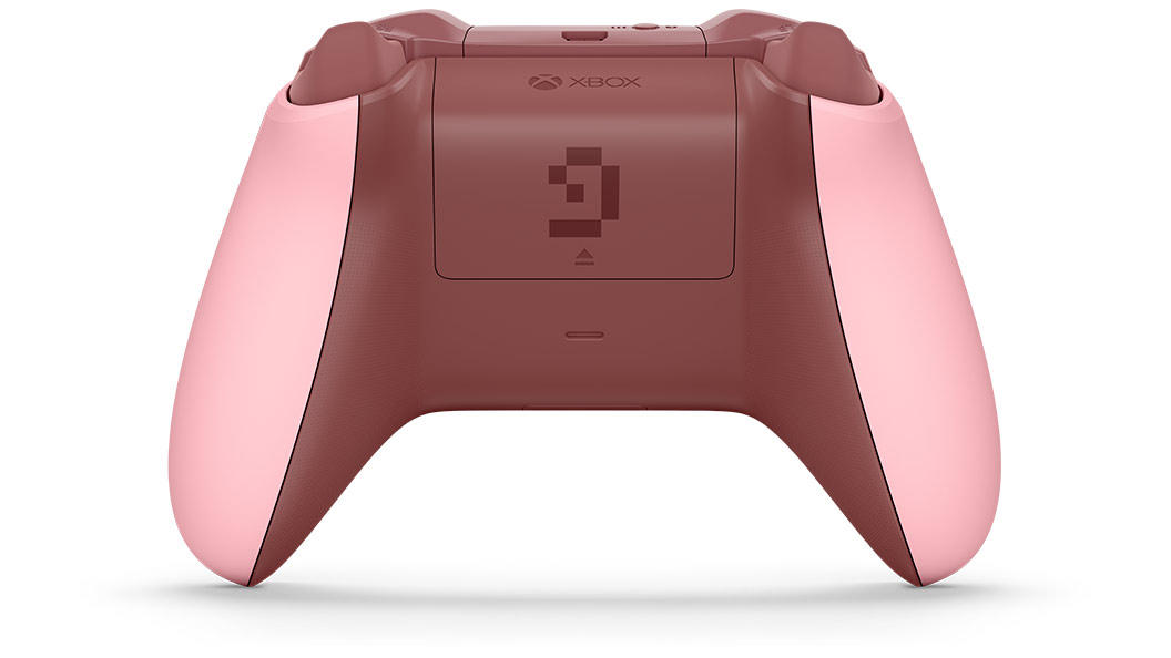 Back view of controller
