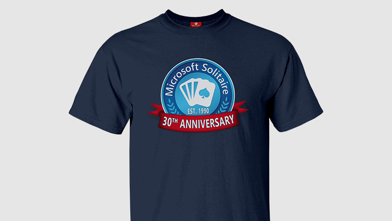 MS Solitaire 30th Anniversary Tee