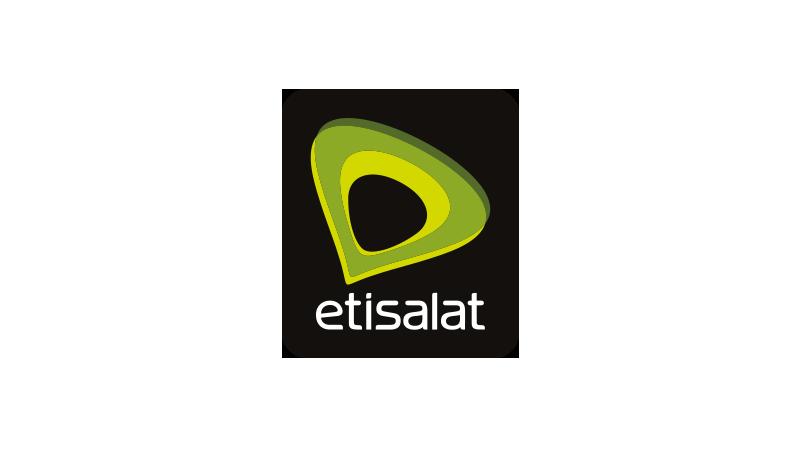 An image of the Etisalat logo