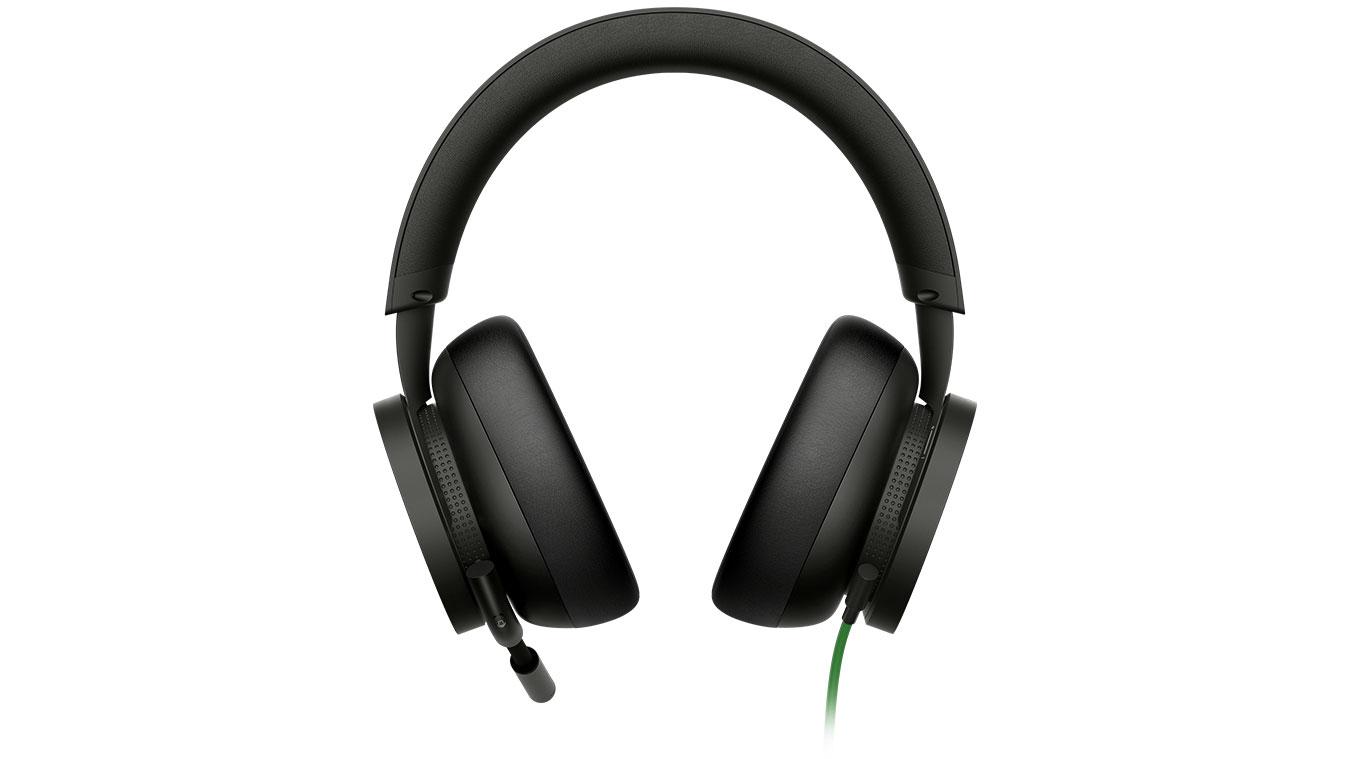الزاوية الأمامية لسماعة Xbox الاستريو