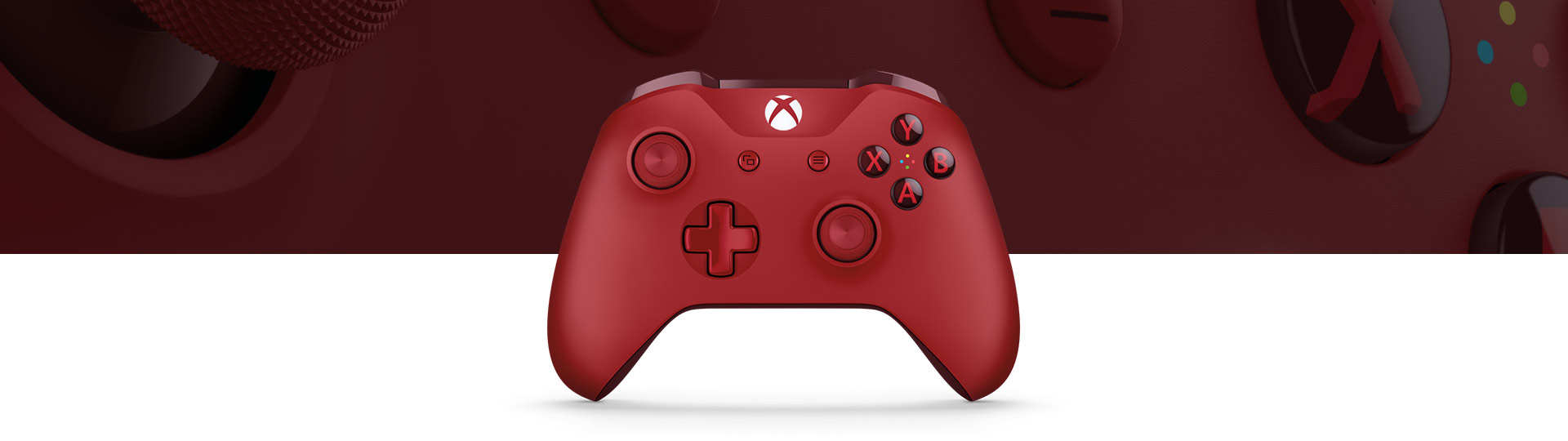 Manette sans fil Xbox One (rouge)