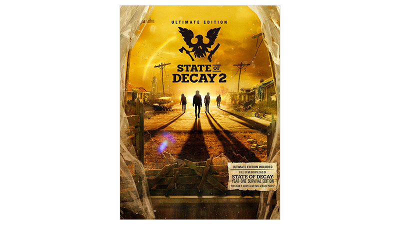 State of Decay 2 Ultimate Edition boxshot