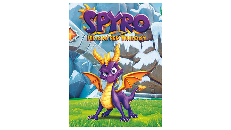 Spyro Reignited Trilogy 標準版外包裝圖