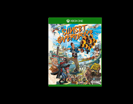 The gallery for --> Xbox One Sunset Overdrive Bundle Box