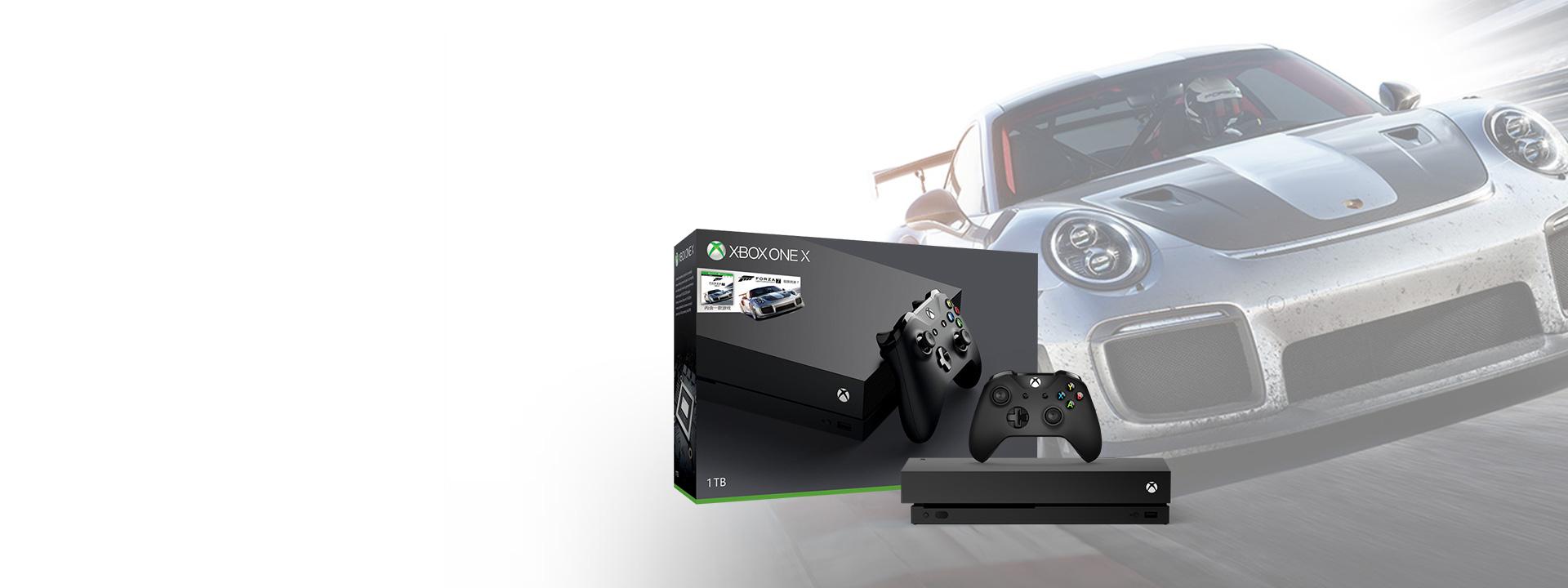 Xbox One X 1TB 消光黑限时12期免息