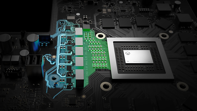 Die Xbox One X Hovis-Methode