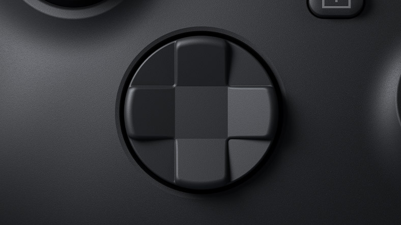 Hybrid D-Pad on the Xbox Series X controller