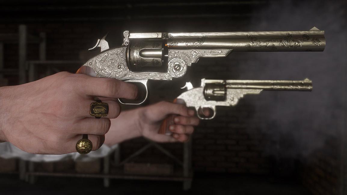 Uma pistola em cada mão