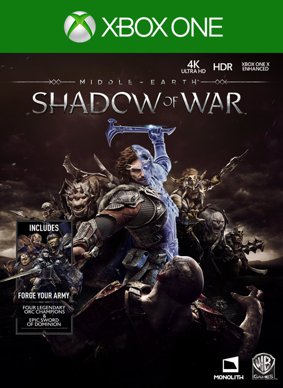 Shadow of War 外包裝圖