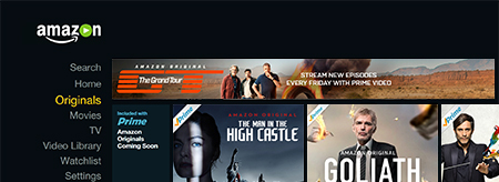 Amazon Originals instant access