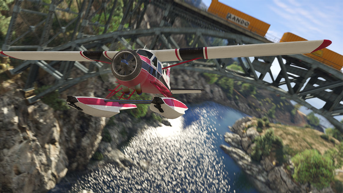 The Dodo - A GTA classic seaplane